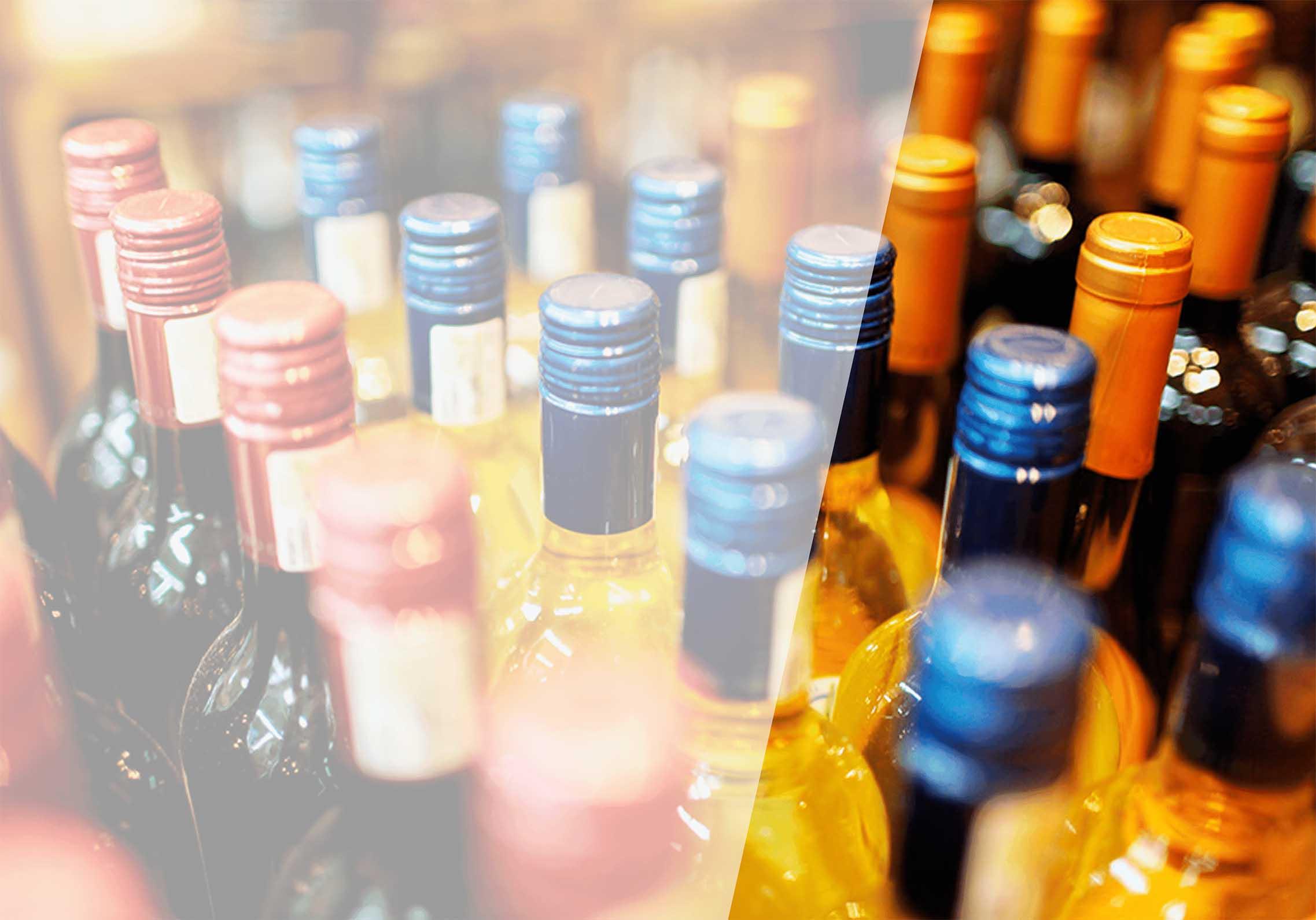 ассортимент алкогольных и табачных изделий
